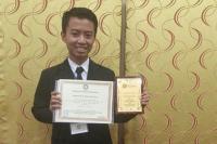 Jadi Peserta Termuda, Mahasiswa Indonesia Raih Penghargaan di Tingkat Dunia