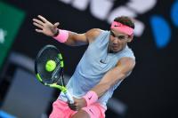 Nadal Jaga Pikiran Positif saat Menangi Laga Perdana Australia Open 2018