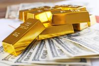 Harga Emas Naik Tipis Didukung Pelemahan Dolar AS
