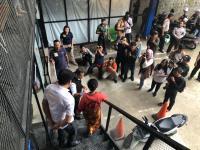Rekonstruksi Kasus Penyembelihan Bayi di Tangsel, Yuni Peragakan 18 Adegan