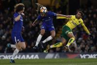 Chelsea Kerja Keras Kalahkan Norwich City di Piala FA 2017-2018