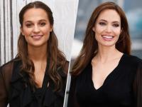 Persamaan Alicia Vikander dan Angelina Jolie sebagai Tomb Raider