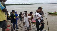 Tim Terpadu Evakuasi 14 Balita Penderita Campak di Asmat