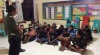 Polisi Perbatasan Gagalkan Penyelundupan 17 Orang ke Malaysia