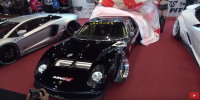 Modifikasi Unik! Lamborghini Miura Digabung dengan Ford GT 40, Apa Jadinya?