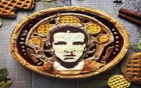 Pie Unik, Bermotif Wajah Tokoh Dunia Mulai Barack Obama hingga Vin Diesel