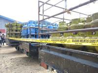 Polisi Sita Ratusan Tabung Gas Elpiji 3 Kg Tak Bersegel di Sambas