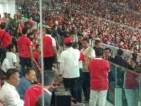 Menengok Kompaknya Kabinet Kerja saat Temani Jokowi Tonton Final Piala Presiden