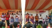 Paslon Wali Kota FM dan Sizi Teken Deklarasi Damai KPU Jambi