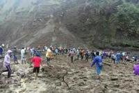 Tewaskan 3 Orang, Polisi Larang Warga Dekati Lokasi Longsor Tambang Pasir