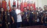 Deddy Mizwar Sambangi Sekretariat Angkatan Muda Siliwangi