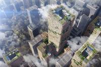 Jepang Bangun Gedung Kayu Tertinggi di Dunia