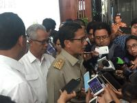 Menteri Basuki dan Sandiaga Uno Rapat Bahas Penurunan Tanah Jakarta, Ini Hasilnya