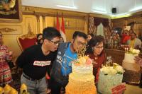 Calon Gubernur Ichsan Ucapkan Selamat Ulang Tahun ke SYL