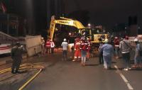 Pipa Gas PGN Bocor yang Menggegerkan akibat Tersenggol Proyek LRT