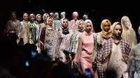 Intip Rancangan Busana Muslim yang Terinspirasi dari Jalan Braga, Bandung