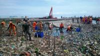 19 Ton Sampah di Hutan Mangrove Muara Angke Berhasil Diangkut Petugas
