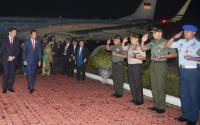 Jokowi Tiba di Tanah Air Usai Lawatan ke Australia dan Selandia Baru