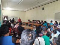 Pengungsi Sinabung Akan Gugat Pemerintah Akibat Tak Dapatkan Penanganan Maksimal