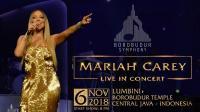 Laris Manis! Tiket Presale Konser Mariah Carey di Candi Borobudur Habis