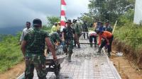 Sosok Kartini Dibalik Program TMMD, Rela Berkeringat & Mandi Matahari