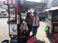 DPP Perindo Pantau UMKM Penerima Gerobak, Mayoritas Pedagang Akui Omzet Naik