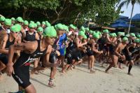 520 Peserta Tergabung di Sungailiat Triathlon 2018