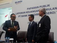 Laba Bersih Bank Mandiri Capai Rp5,9 Triliun di Kuartal I-2018, Naik 43,7%
