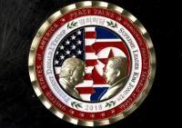 Gedung Putih Terbitkan Koin Peringatan untuk Pertemuan Trump dan Kim