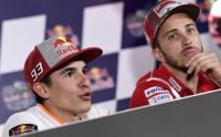 Marquez Bersyukur Dovizioso Gagal Finis di MotoGP Prancis 2018