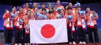Para Pemain Jepang Luapkan Kegembiraan Usai Jadi Juara Piala Uber 2018