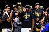 Golden State Warriors Juara NBA 2017-2018 Usai Hancurkan Cleveland Cavaliers