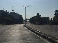 H 4 Lebaran, Jalanan Jakarta Masih Sepi Kendaraan