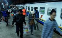 18.039 Orang Diprediksi Tiba di Stasiun Gambir Hari Ini