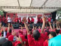 Hadiri Kampanye Terbuka Heru-Gono, Dewi Aryani Minta Kader PDIP Perluas Basis Massa