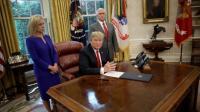 Tandatangani Perintah Eksekutif, Trump Ubah Aturan Pemisahan Anak dan Orangtua Imigran