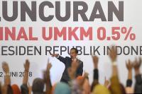 Pajak UMKM 0,5%, Jokowi Ingatkan Konsistensi Pengusaha