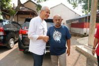 Tutup Kampanye, Ganjar Pranowo Kunjungi Rumah Keluarga Sudirman Said