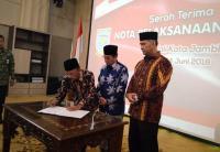 Hari Ini, Syarif Fasha Aktif Kembali sebagai Wali Kota Jambi