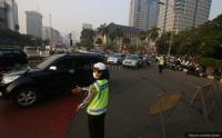 Minggu Pagi, Sebagian Besar Lalu Lintas Jakarta Terpantau Lancar