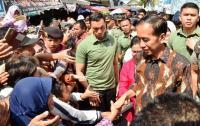Warga Klaten Kaget Jokowi Blusukan ke Pasar Gede Klaten