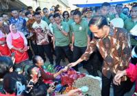 Jokowi Ingin Pasar Gede Klaten Direnovasi Total
