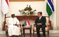 Temui JK, Wapres Gambia Undang Indonesia Hadiri KTT OKI