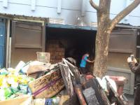 Gudang Supermarket Giant di Bintaro Terbakar