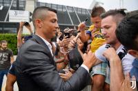 Tanggal Latihan Perdana Ronaldo di Juventus