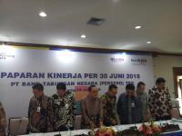 Bank BTN Catat Laba Bersih Rp1,42 Triliun di Semester I-2018