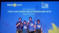 Hariyanto Arbi Ikut Meriahkan Kudus Relay Marathon 2018