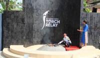 Puan Maharani Pimpin Ritual Pengambilan Api Obor Asian Games 2018