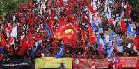 Ribuan Karyawan Pertamina Demo di KBUMN dan KESDM Dipastikan Aksi Damai