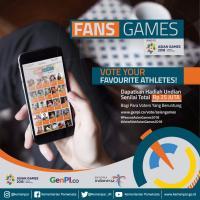Vote Atlet Asian Games Favorit, Raih Kesempatan Menangkan Undian Berhadiah Fans Games